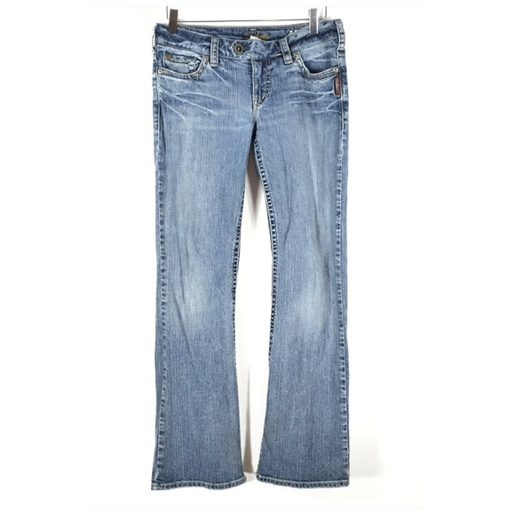 Silver Jeans Denim - Silver Jeans Tina Tab Jeans Size 28/31